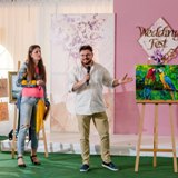 Картина руками гостей