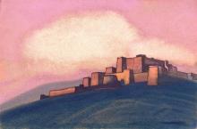Тибетская крепость. 1936
