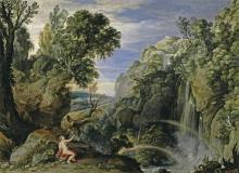 Пейзаж с Психеей и Юпитером (1610) (95 х 129 см) (Мадрид, Прадо)