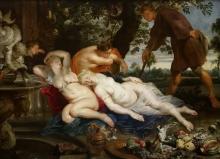 Кимон и Ифигения (совм. с Франсом Снейдерсом) (ок.1617) (208 х 282) (Вена, Музей истории искусств)