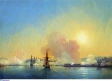 Вход в Севастопольскую бухту. 1852
