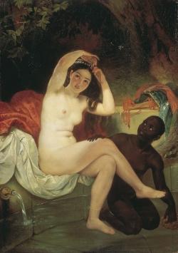 """Картина """"Вирсавия"""", Карл Брюллов, 1832"""