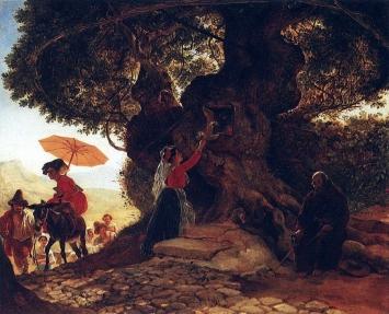У Богородицкого дуба, Брюллов