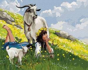 Пастушка на горе