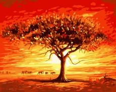Золотое солнце Африки