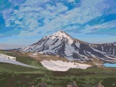 Вулкан Ликанкабур. Чили