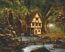 Мельница в заколдованном лесу