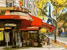 Живописный Париж