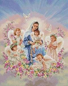 Богородица с ангелами