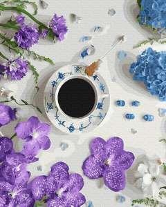 Фиалковый кофе