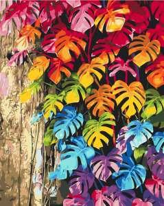 Цветное листья