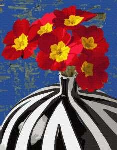 Цветы в сюрреалестической вазе