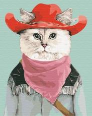 Кот-ковбой
