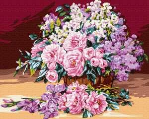 Нежный розовый букет