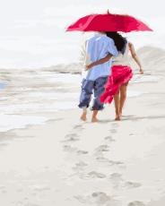 Прогулка по белому песку