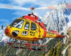 Вертолет в Альпах