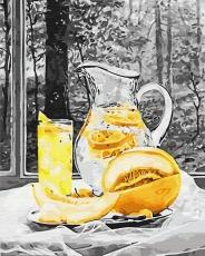 Лимонад и дыня