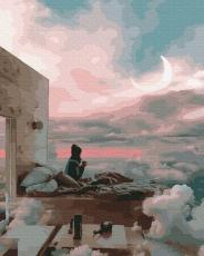 """Картина для росписи по номерам """"В облаках"""" 40 х 50 см BK-GX38204"""