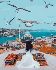 "Картина для росписи по номерам ""Над Стамбулом"" 40 х 50 см BRM40100"