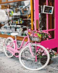 Велосипед на улице Парижа