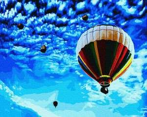 Полет в синее небо