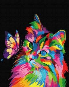 Котик в красках