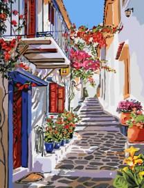 Улочка греции