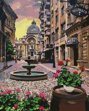 Бухарест летом