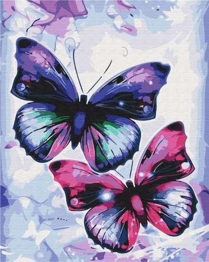 Блестящие бабочки